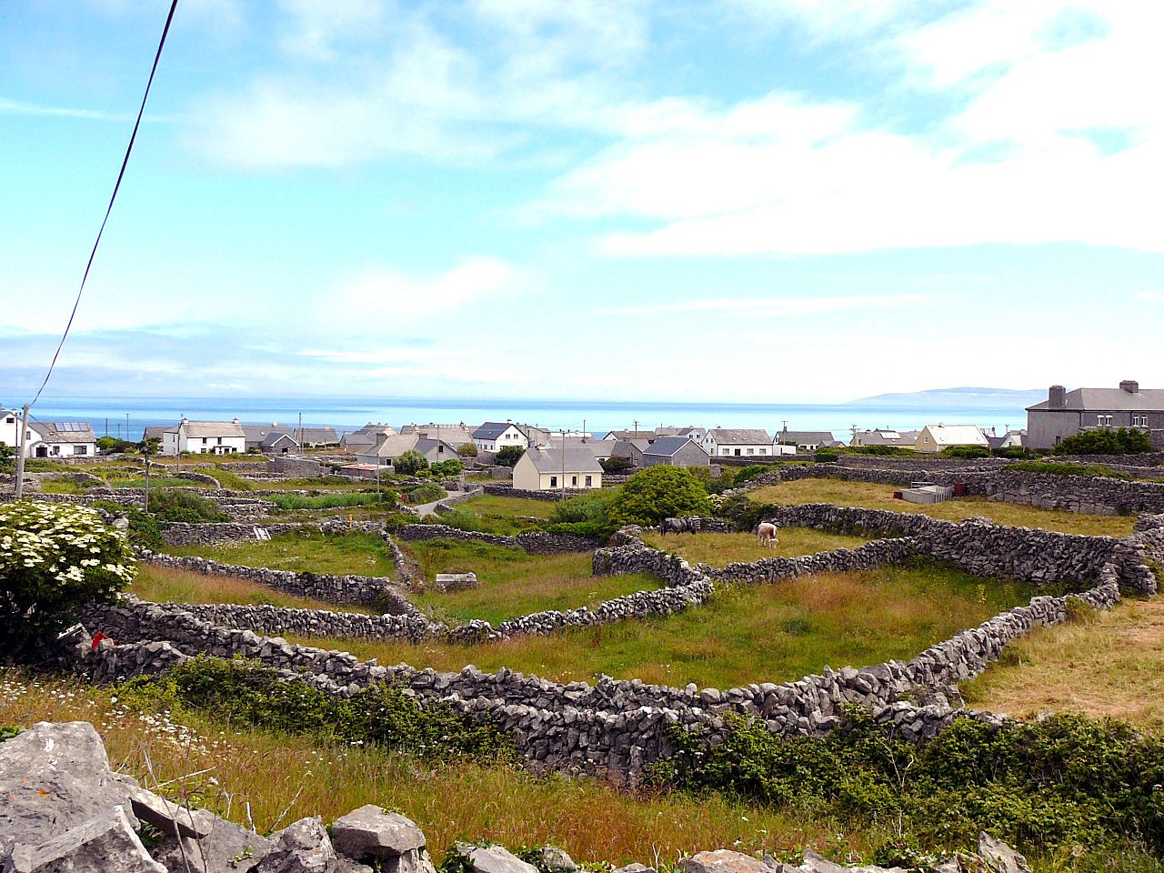 The isolated Aran Islands are one of the best places to stay in Ireland
