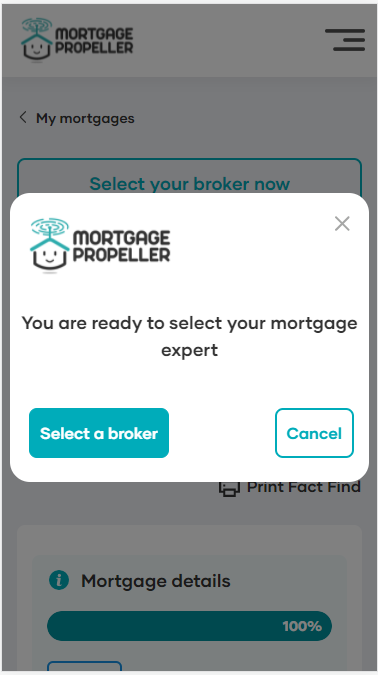 How it Works - Select Broker step 1