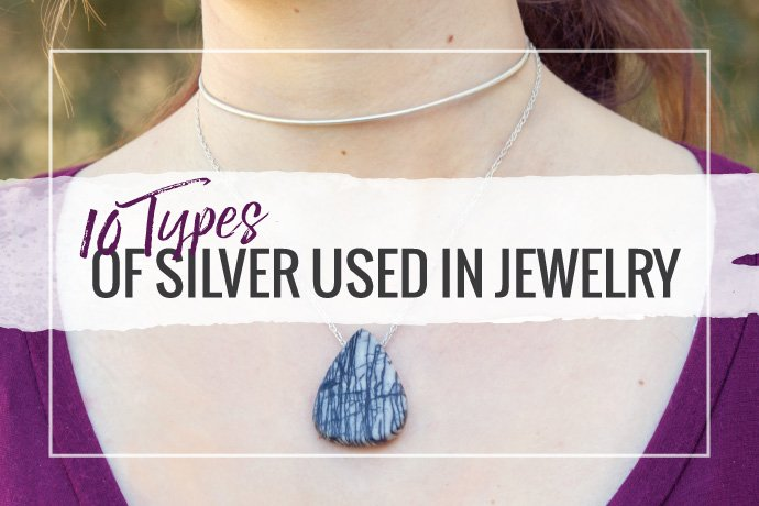 Definitions of different types of silver alloys used in jewelry making comparing the pros and cons of each material in the studio.