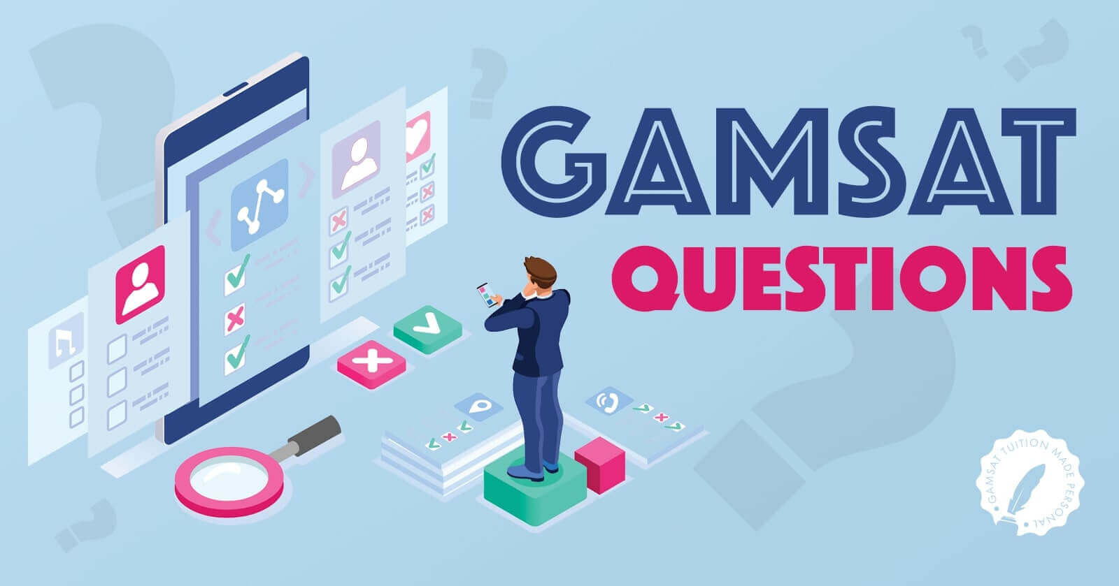 gamsat example questions for all three sections