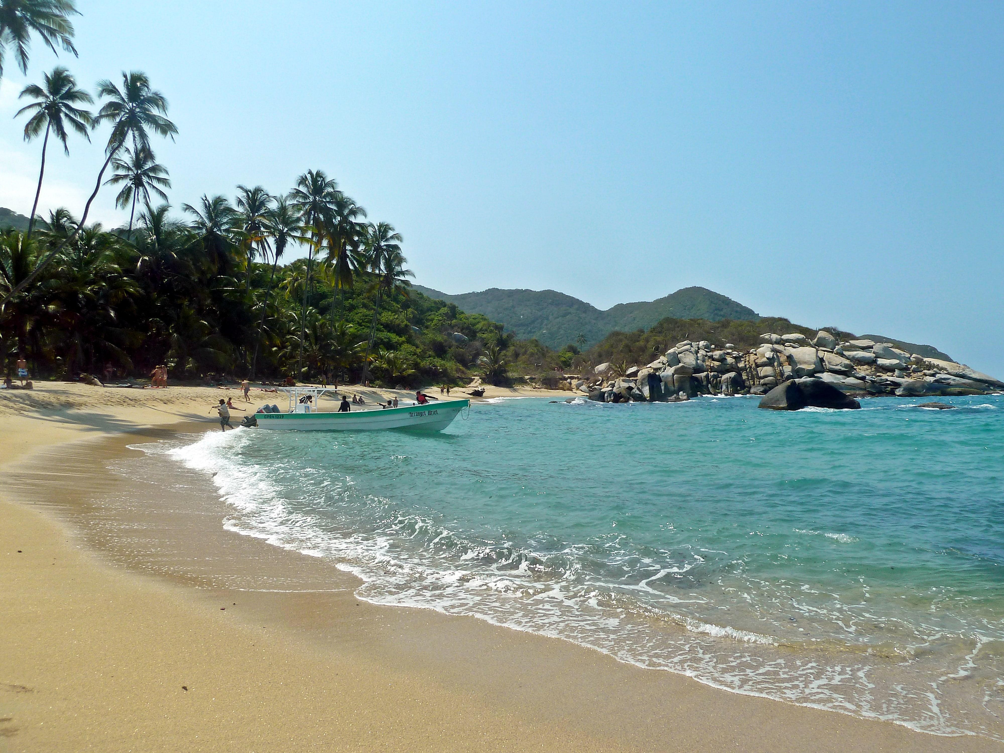 Beach in Cartagena