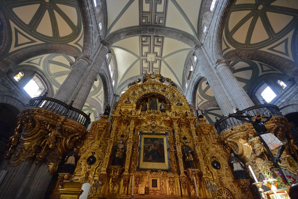 Catedral Metropolitana is one of the Places to Visit in Mexico City