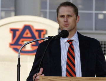 Brett Hawke, Head Coach of Auburn University's swim team
