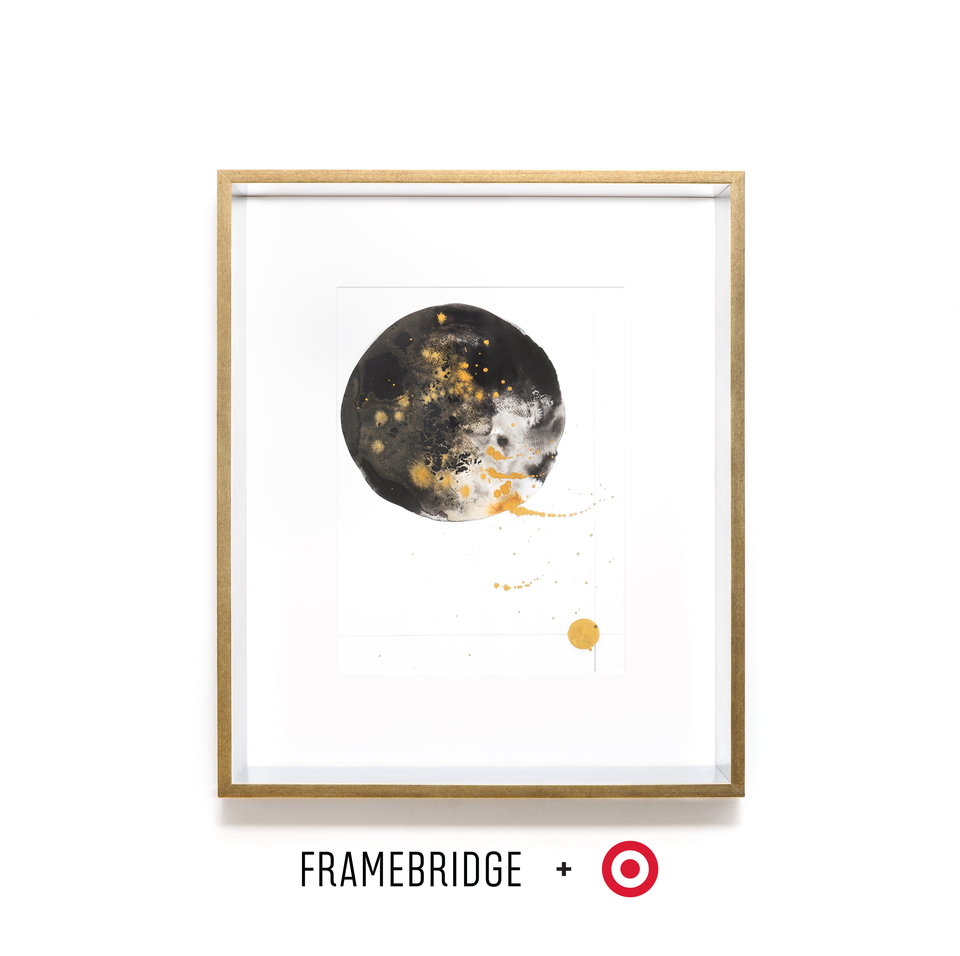 Glam silver and gold frame for Target Collection
