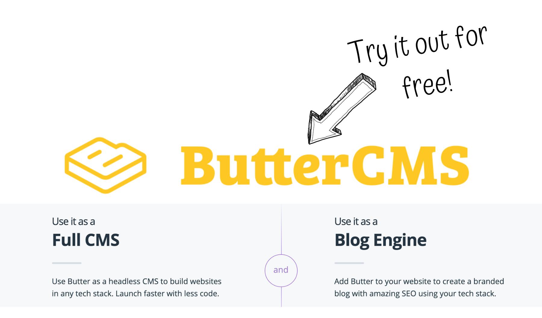 cms-powered marketing website