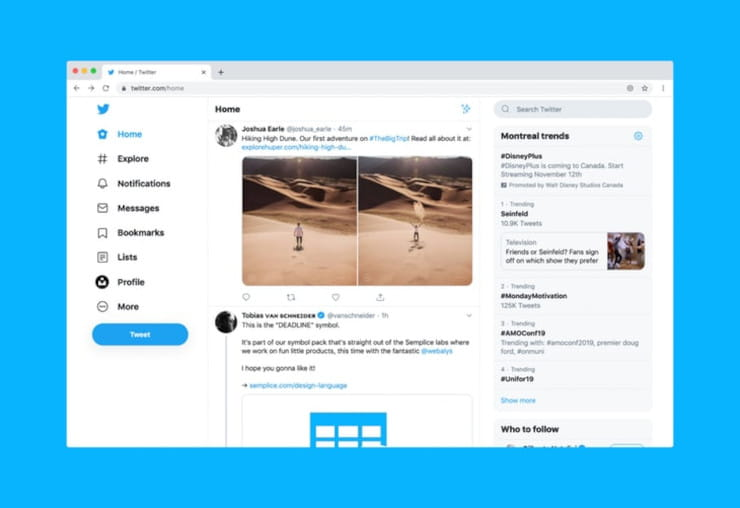 Twitter for Ecommerce Scheduling