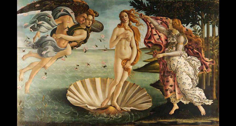 Sandro Botticelli - Birth of Venus, mid 1480s