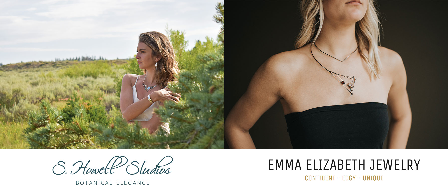 S. Howell Studios and Emma Elizabeth Branding examples