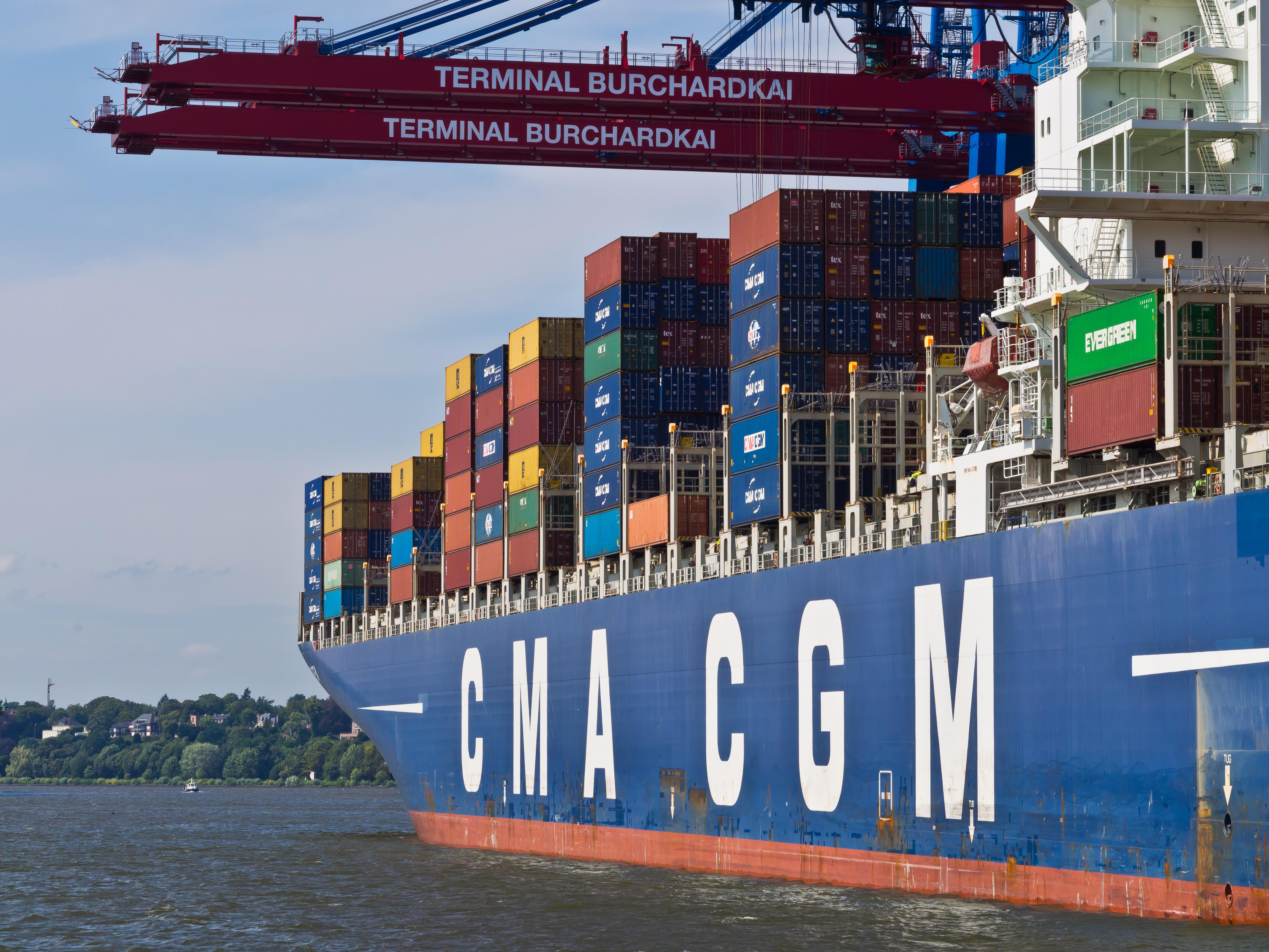CMA CGM Australia Stevedores Logistics Sea Freight