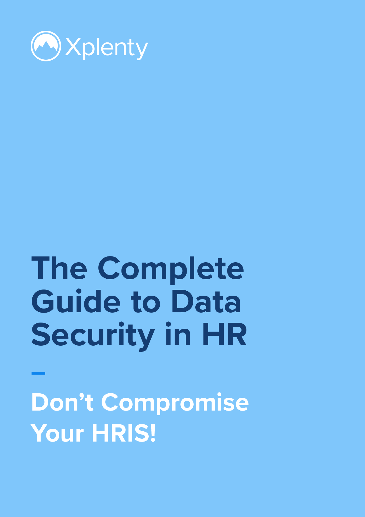 The Complete Guide to Data Security in HR