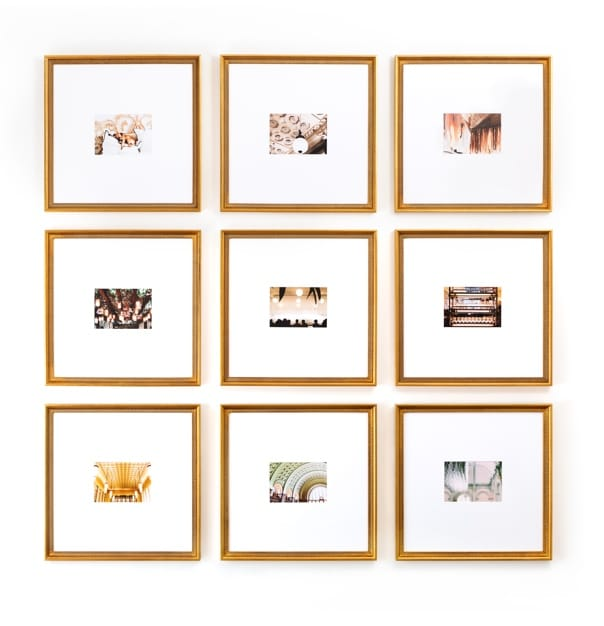 The Half Wall Grid in White