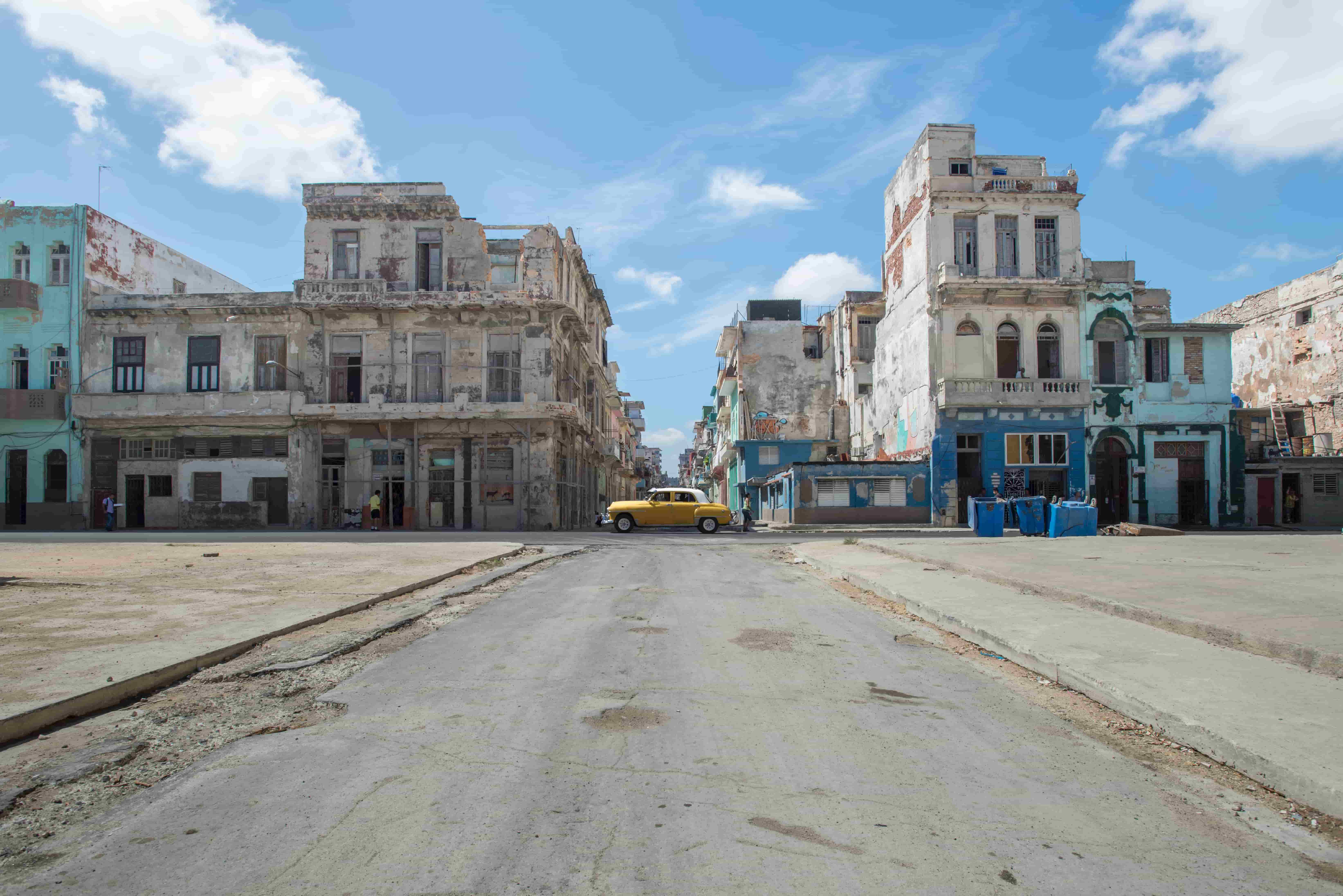 cars and buildings in cuba