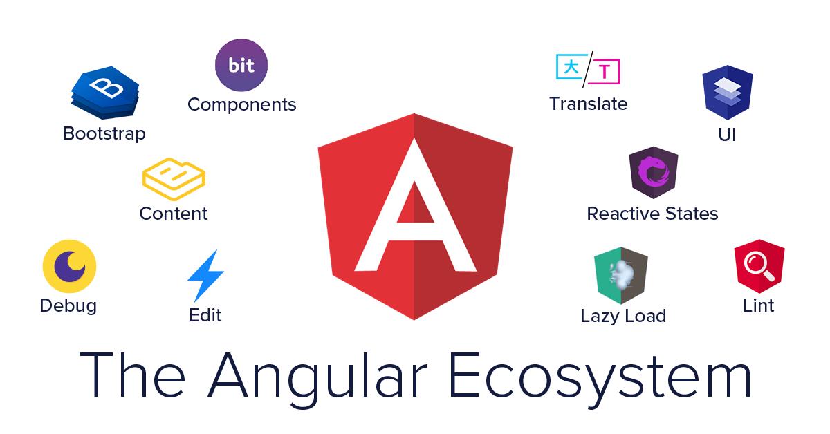 The Angular ecosystem