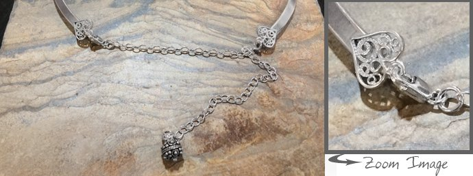 Neck collars for jewelry making