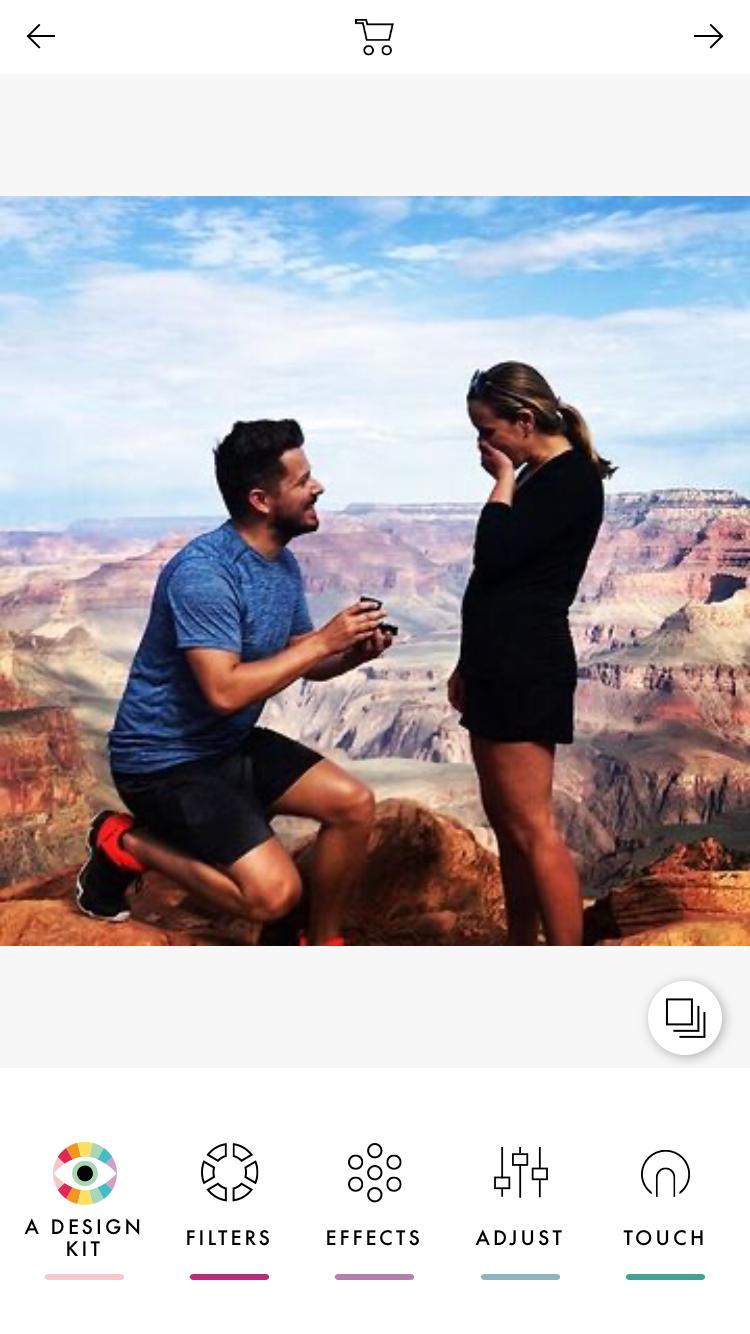 VSCO photo editing app screenshot