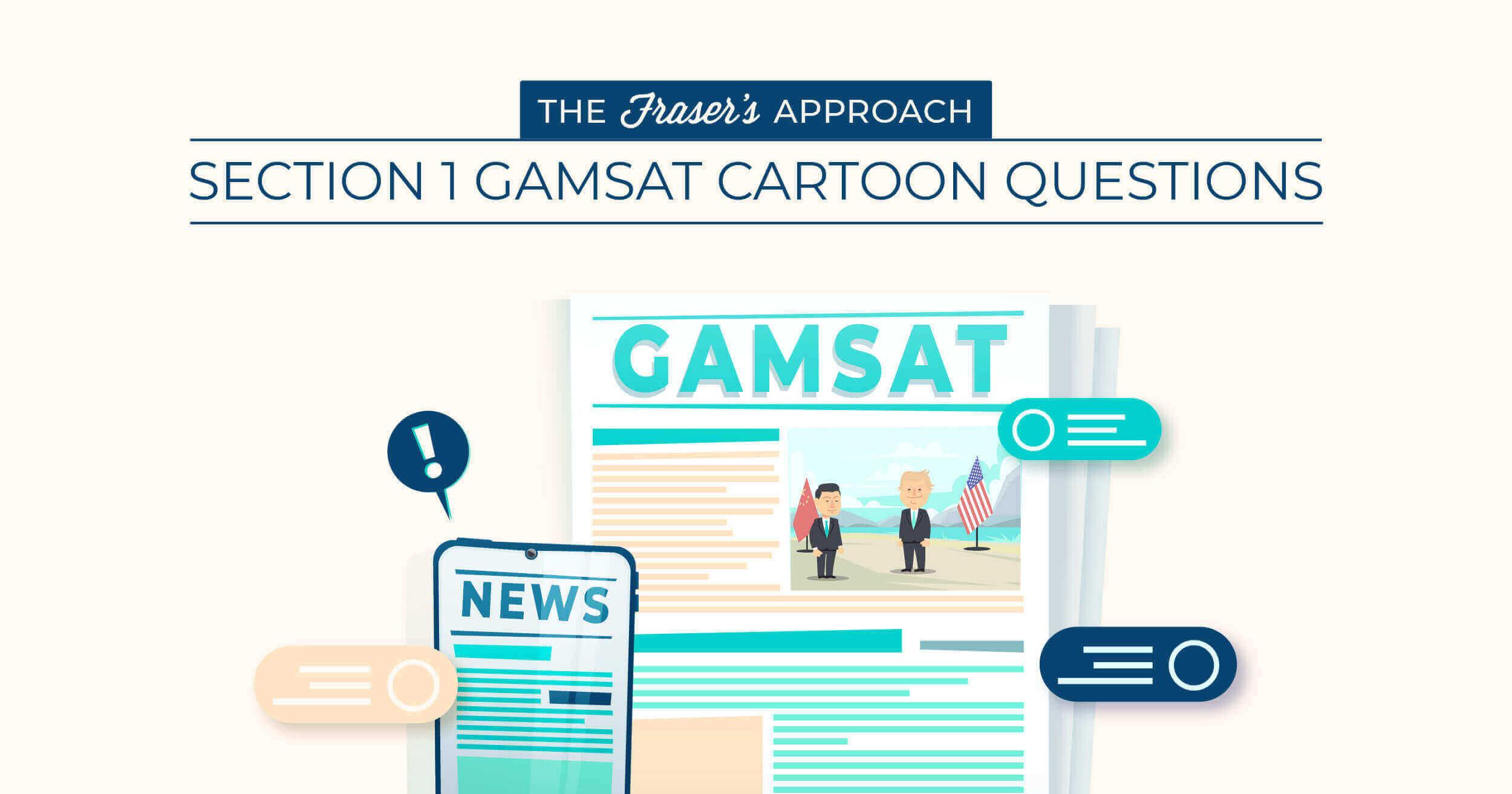 gamsat cartoon questions