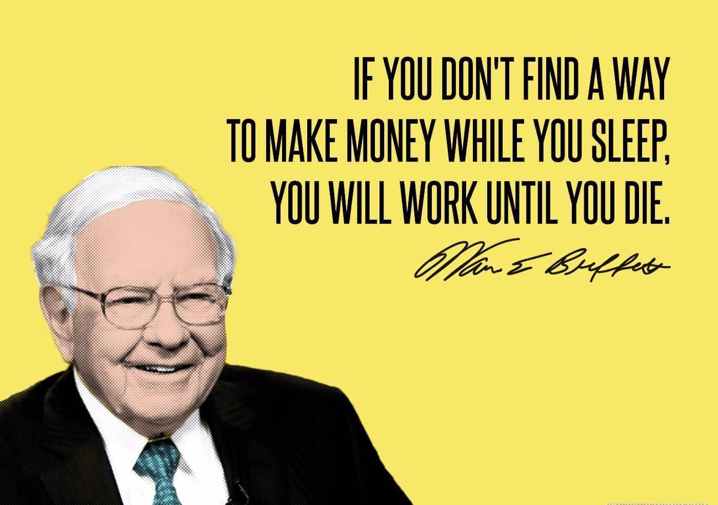 Warren Buffet- Financial freedom