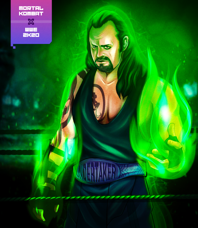 Nearly 1,000 gamers would play a Mortal Kombat and WWE 2K20 crossover game