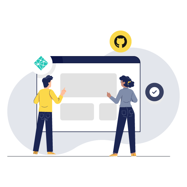 Illustration: Building a website with Netlify Build