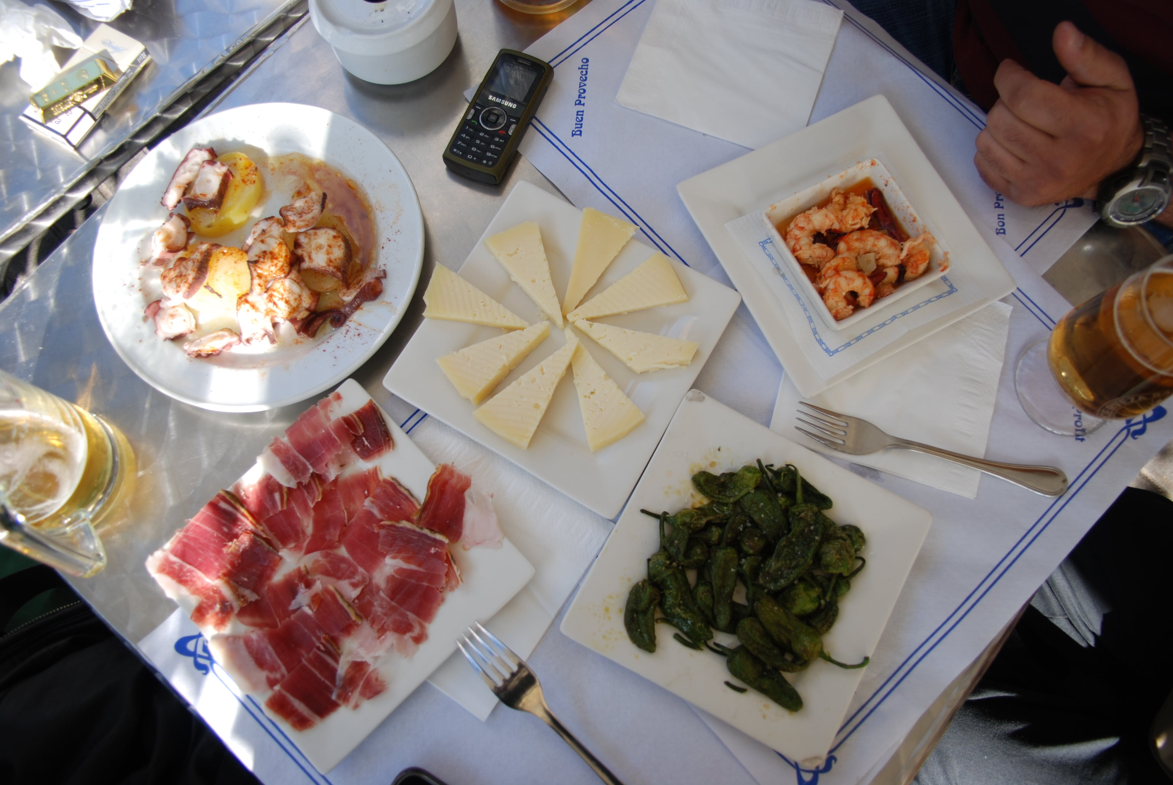 Enjoying tapas is a delicious thing to do in Spain