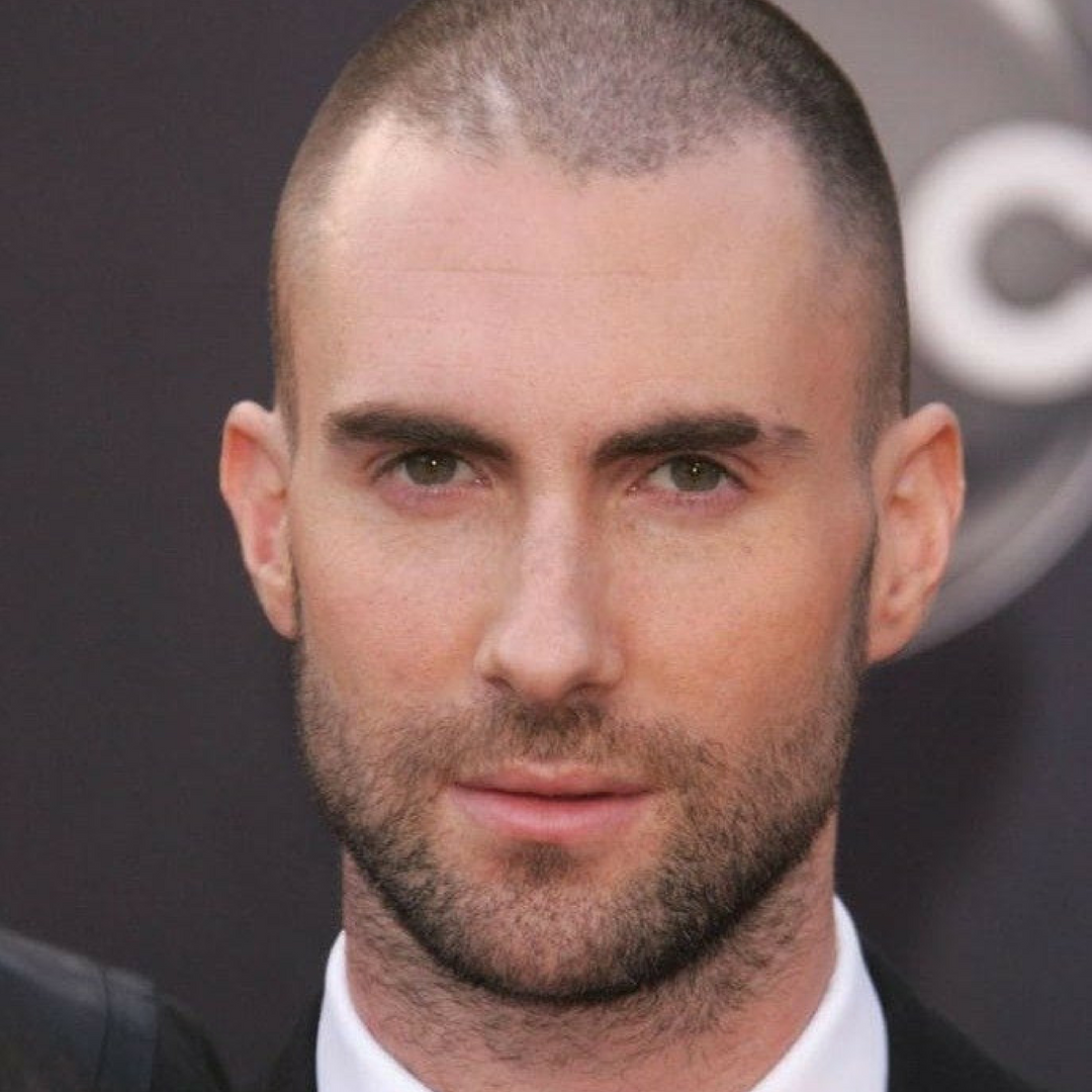 Best Men's Hairstyles for Thinning or Receding Hair. The Buzz Cut
