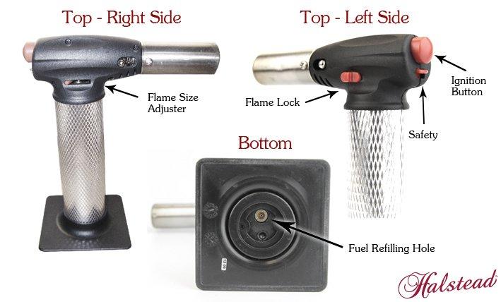 Anatomy of a butane torch