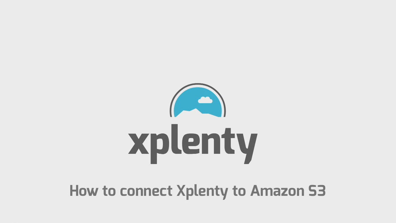 How to connect Xplenty to Amazon S3