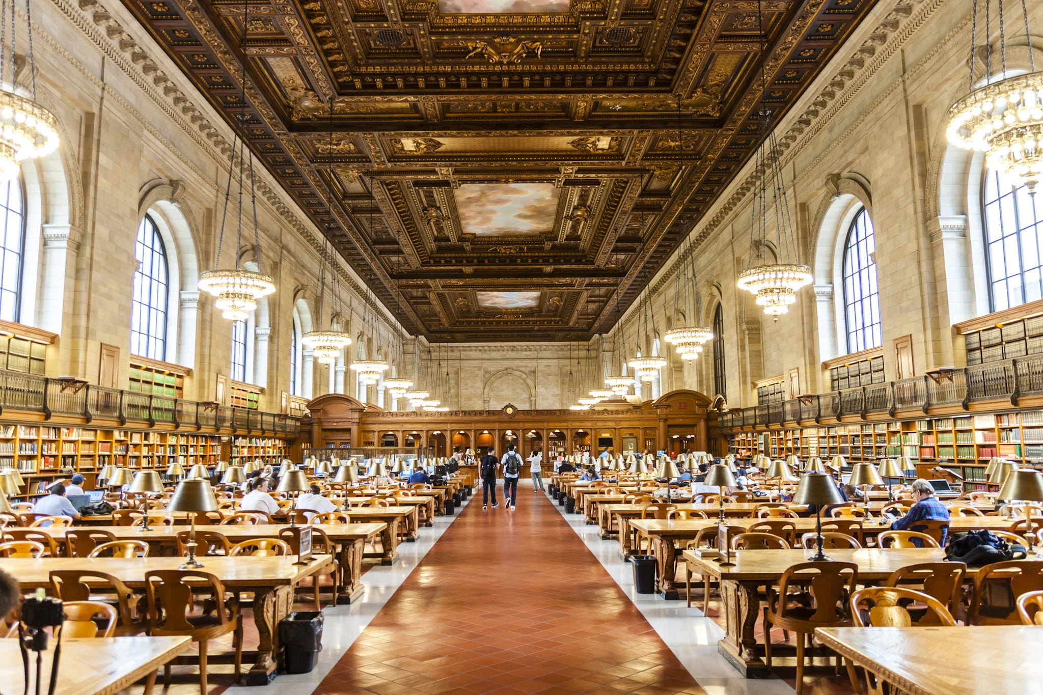 The New York Public Library is one of the coolest places to visit in New York City