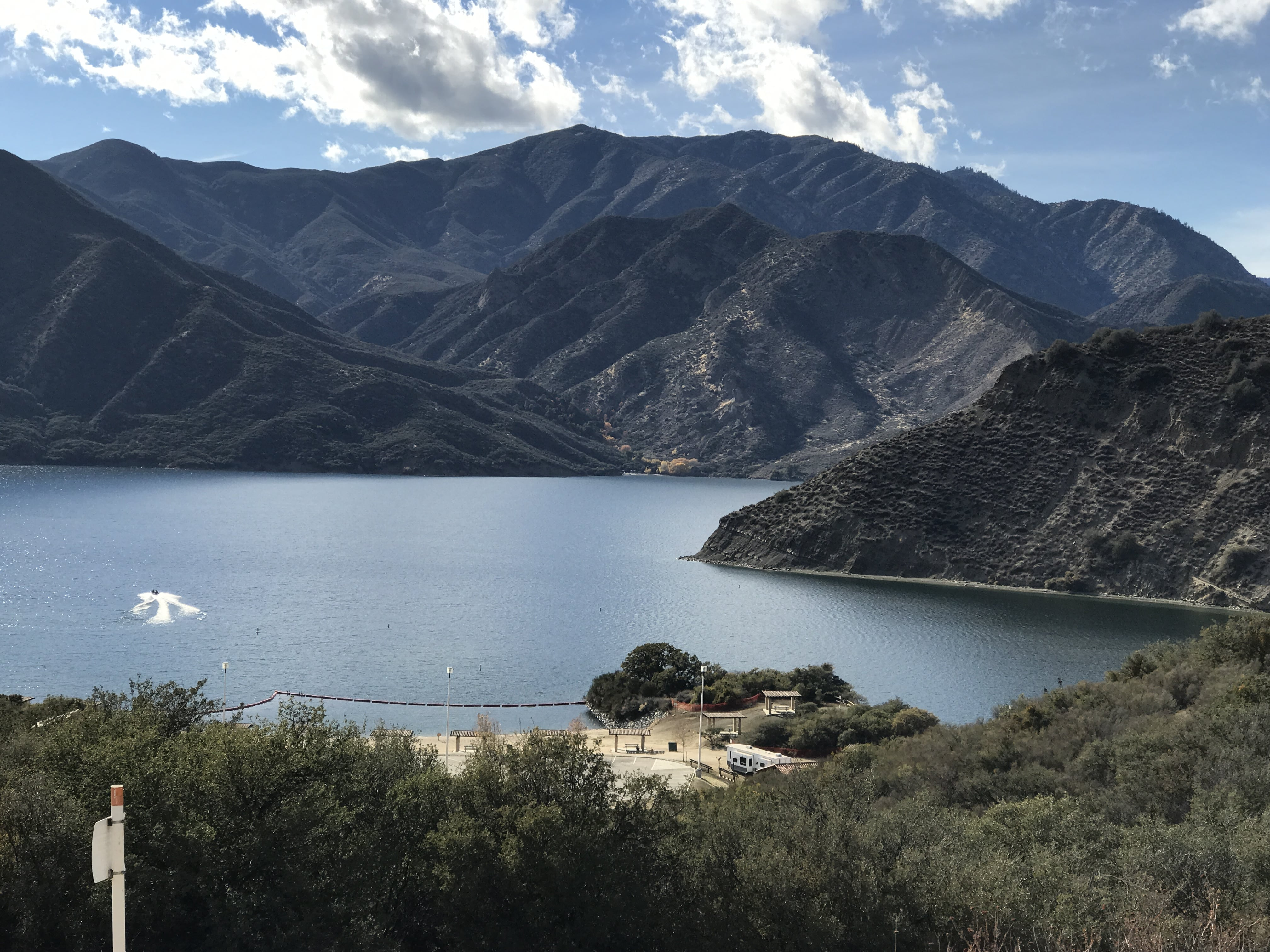 A great place to visit in LA out of the city is Angeles National Forest