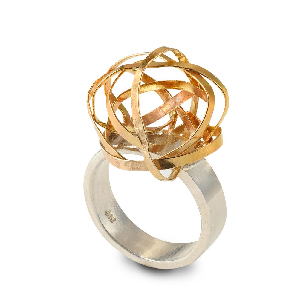 Ribbon Knot Cocktail Ring