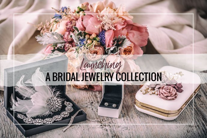 Making a bridal jewelry collection is an important step for your small jewelry business. Create a new line of products for brides and bridesmaids now.