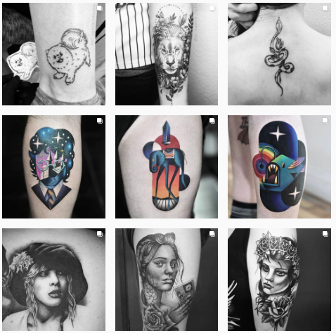 instagram tatoos wizard