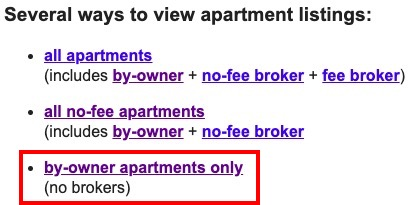 Alternatives To Craigslist NYC Apartments For Rent By ...