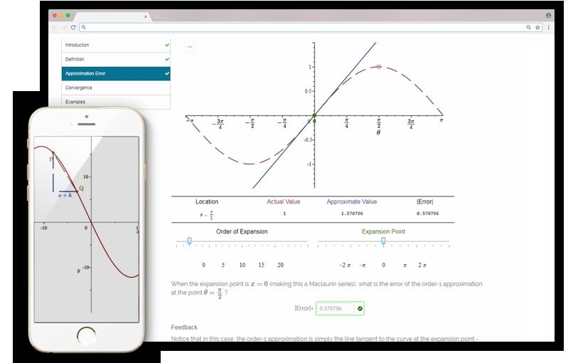Courseware Screen Shot