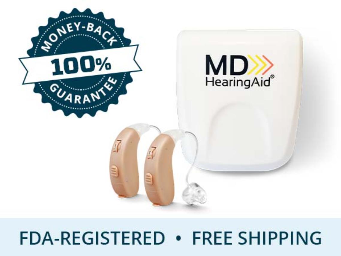 MDHearingAid AIR advertisement
