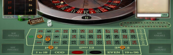 Jackpot City French Roulette