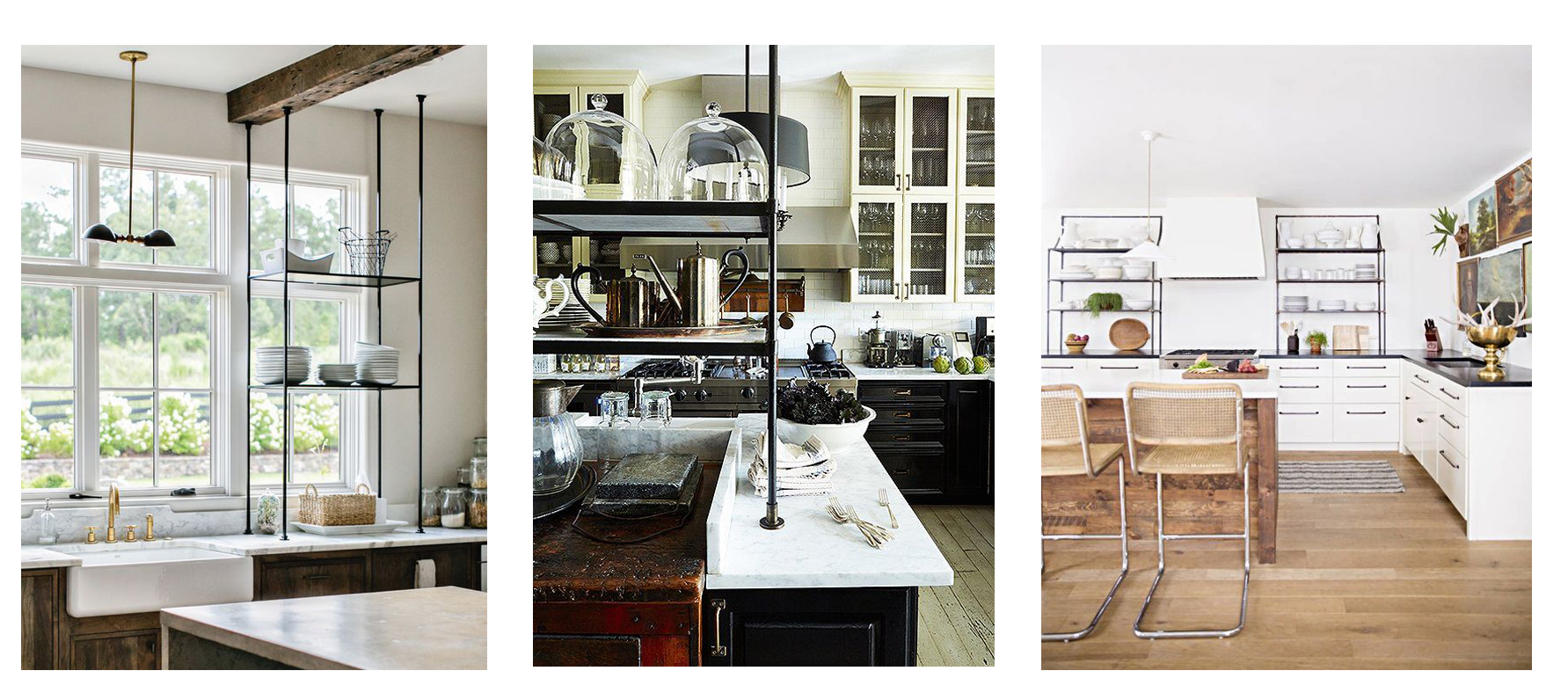 french baking racks in modern kitchens