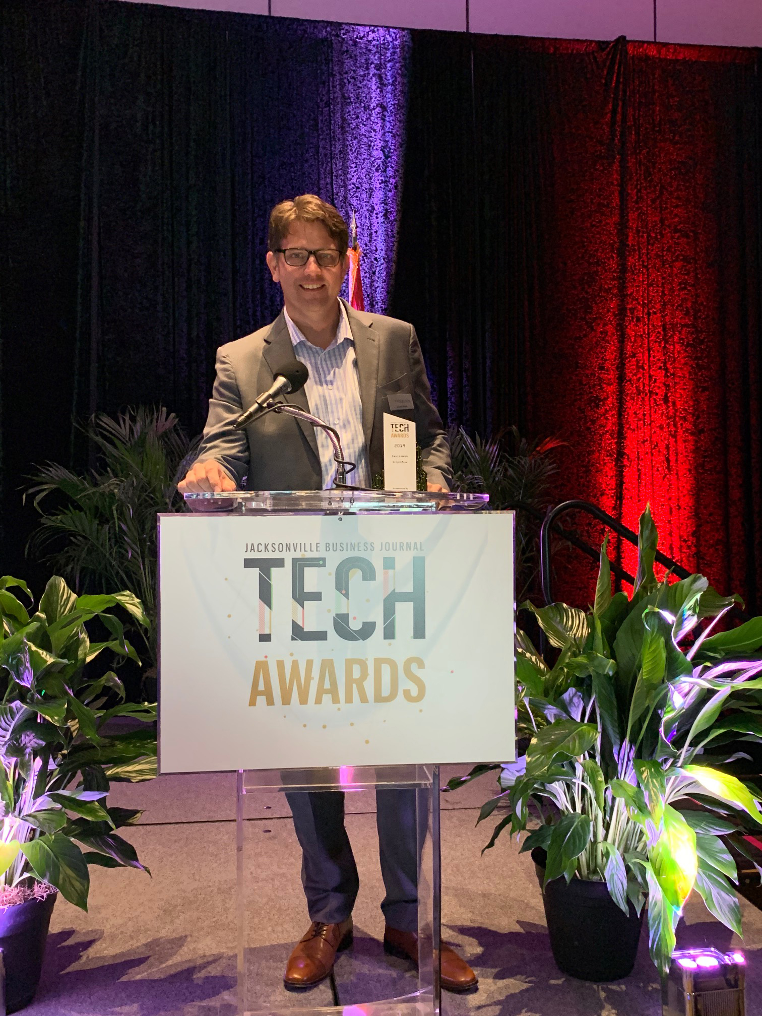 BRIGHTMOVE CEO HONORED AS A FIRST COAST TECH LEADER