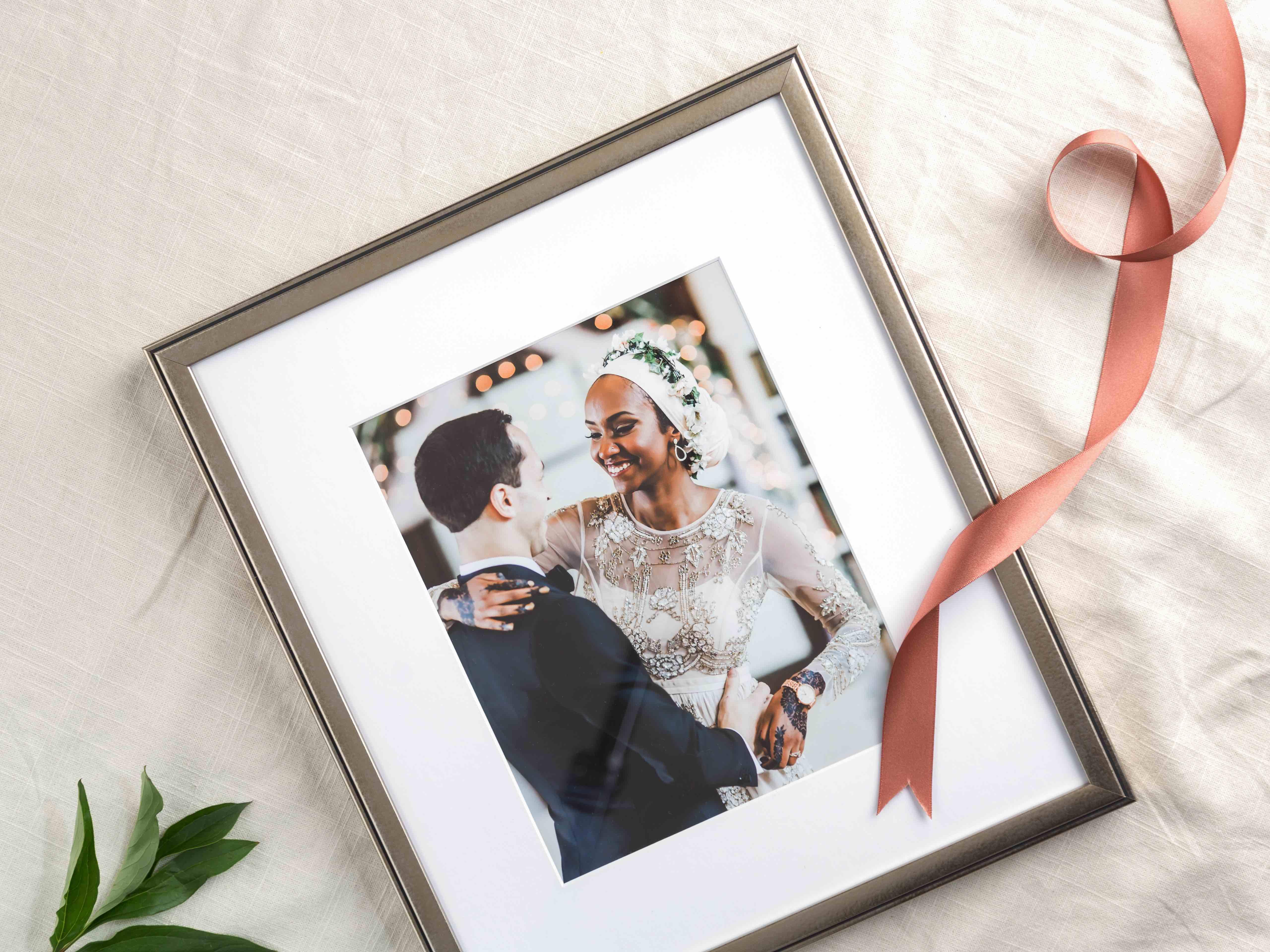 how to frame your wedding photos framebridge