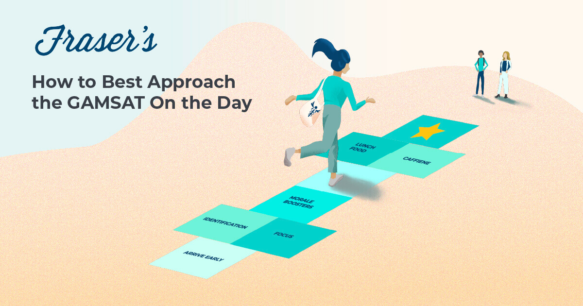 GAMSAT on the day: what do i do on the day of gamsat
