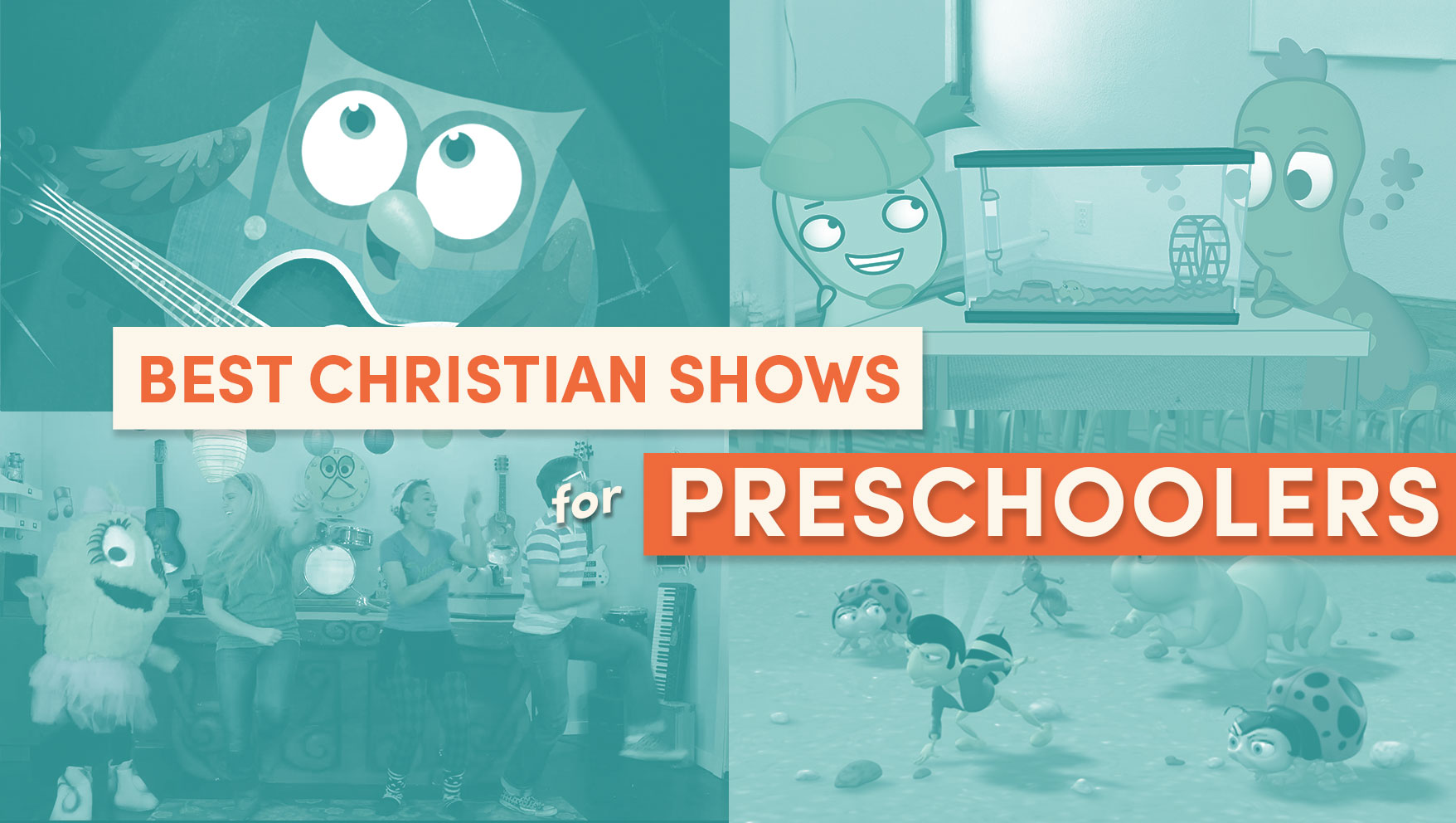 Best Christian Shows for Preschoolers