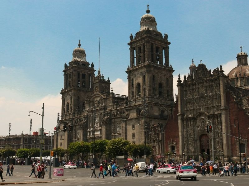 Centro Historico: The Historic Center of Mexico City