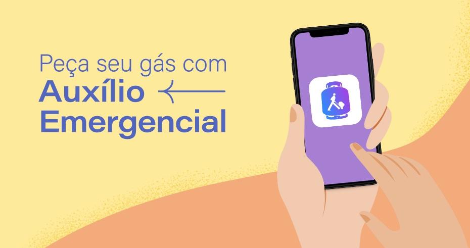 Peça seu gás com Auxílio Emergencial