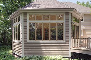 Exterior casements fiberglass windows from Infinity from Marvin