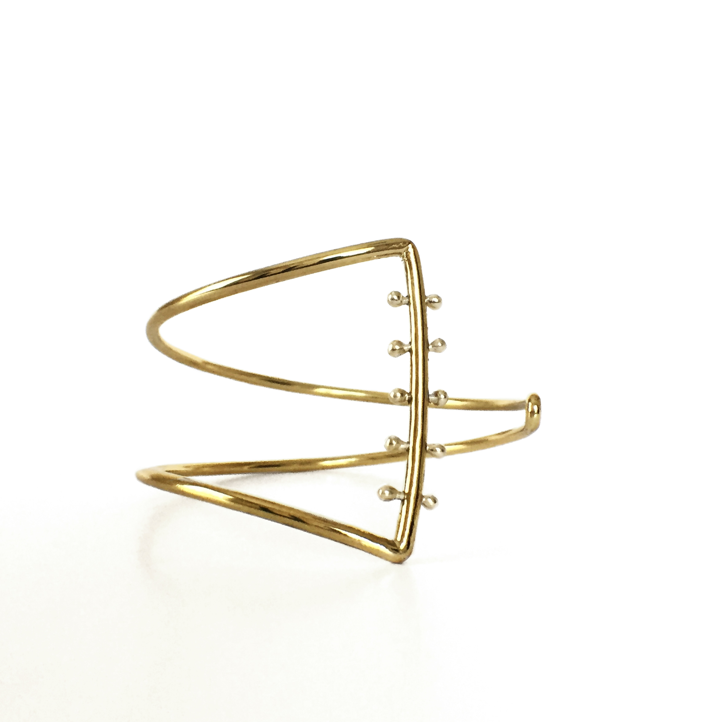 Asymmetry Cuff - VLM Jewelry