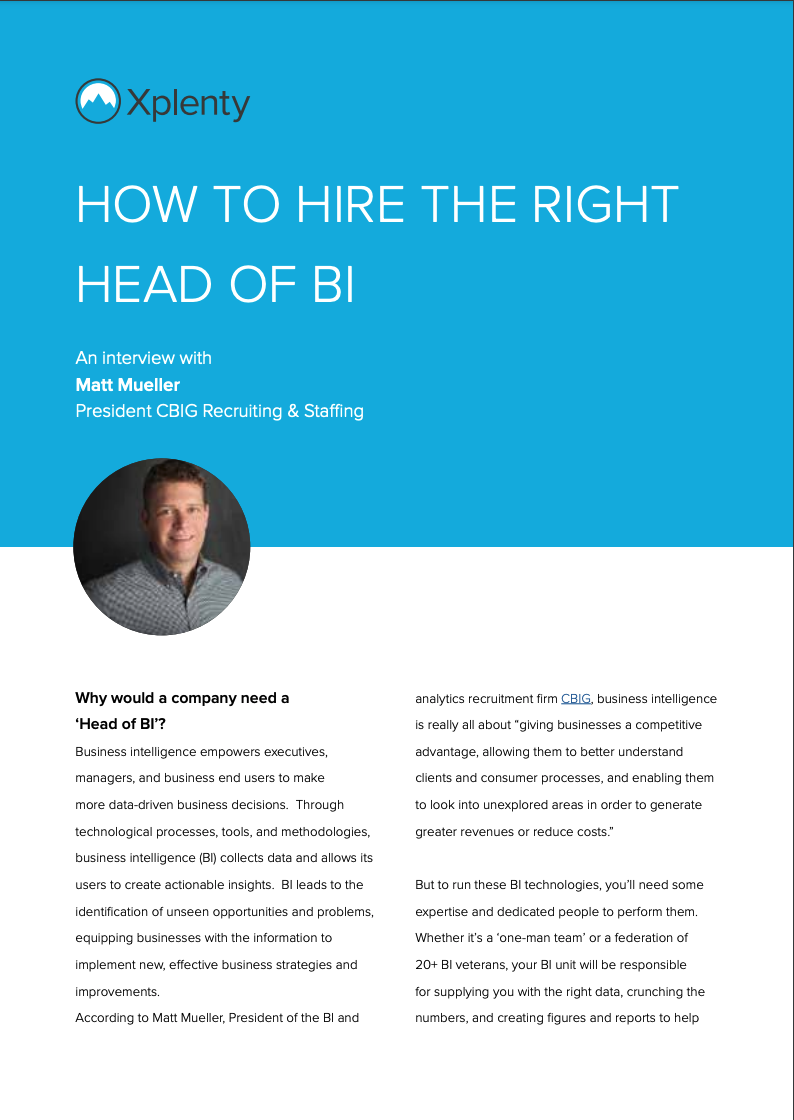 How to Hire the Right Head of BI