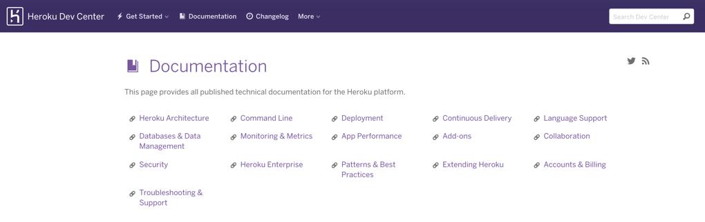 Deploying Heroku static website hosting