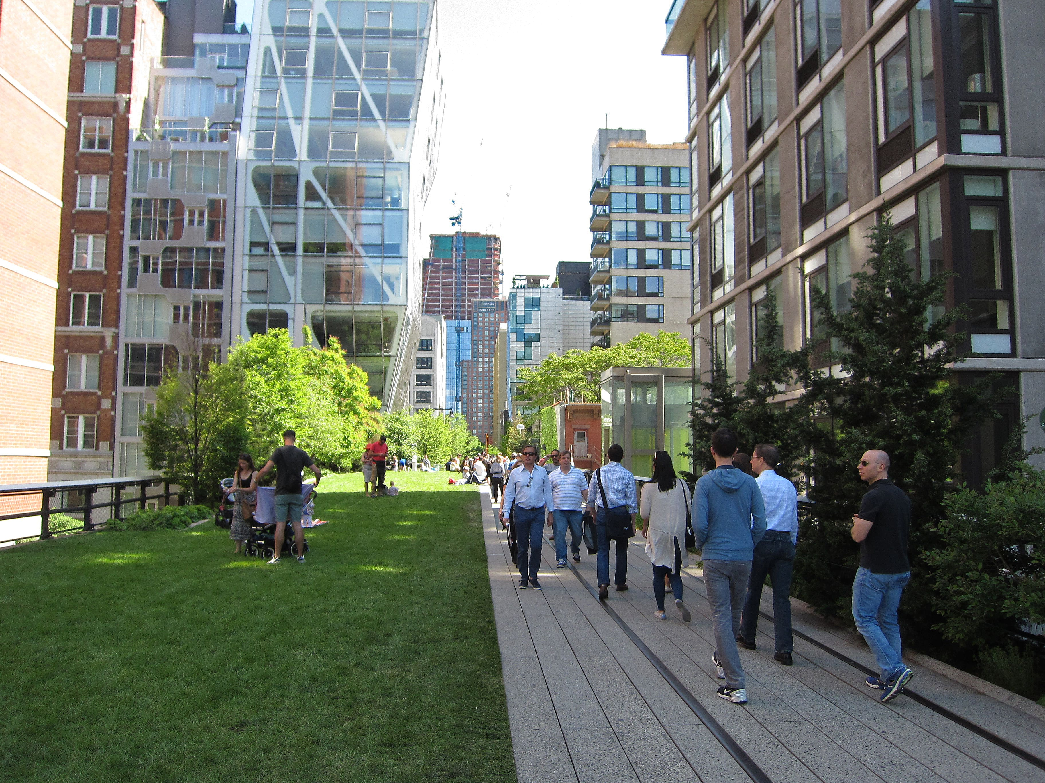 The High Line in Chelsea is an awesome place to visit in New York City
