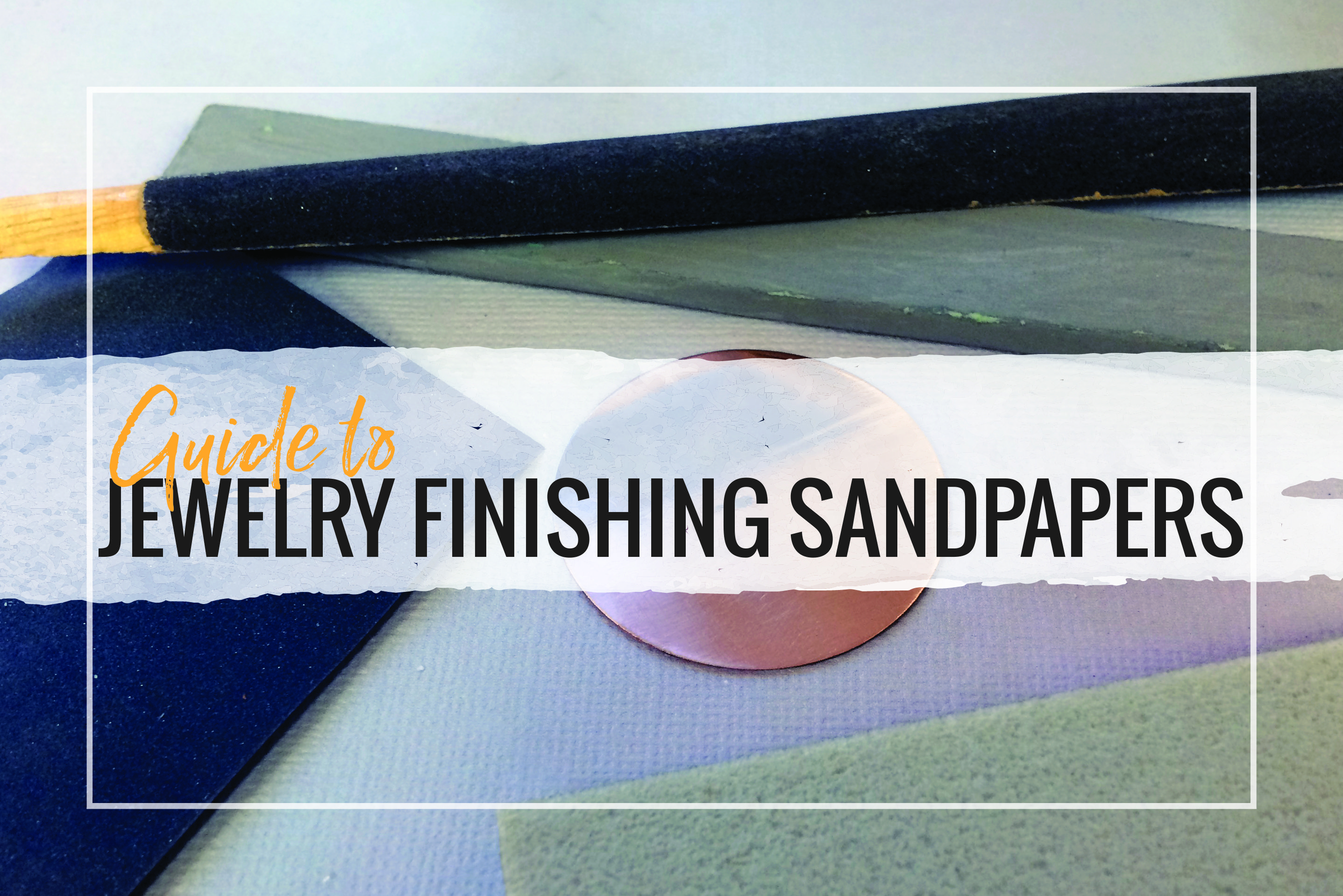 Check out our guide to jewelry finishing sandpapers and polishing papers. Learn what grit you need and compare different products for your studio.