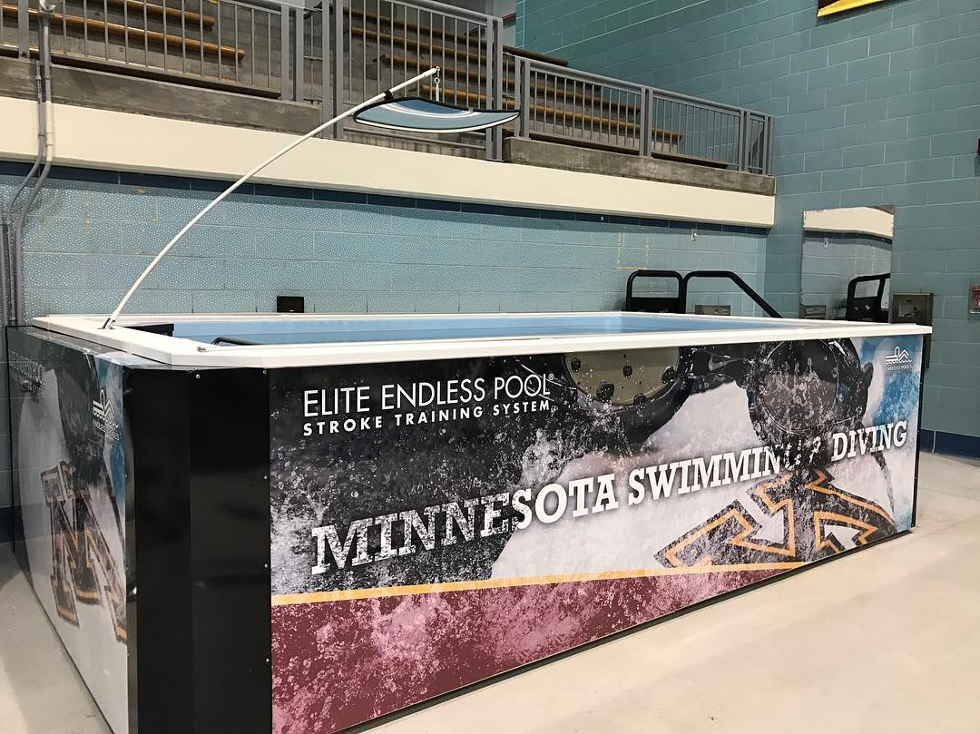 Minnesota Swimming and Diving Endless Pool